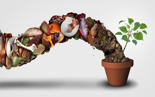 S kompostiranjem vračamo naravi.