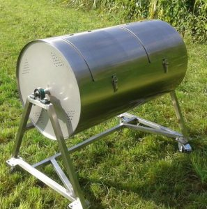 Composter GAJA with two compartments